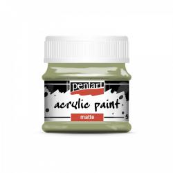 Akrylová farba matná 50ml, tŕňová zelená