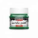 Akrylová farba matná 50ml, zelená