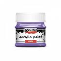 Akrylová farba matná 50ml, fialková