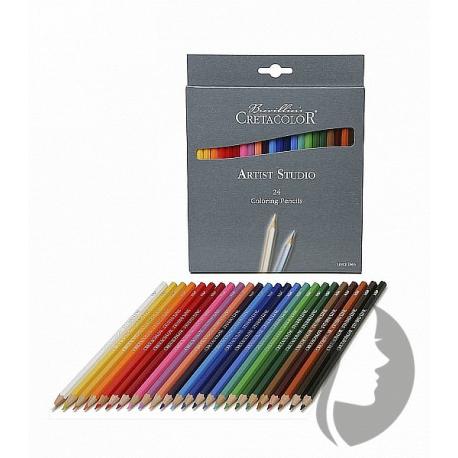 Sada farebných ceruziek Artist Studio 24 ks