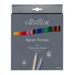 Sada akvarelových ceruziek 24ks