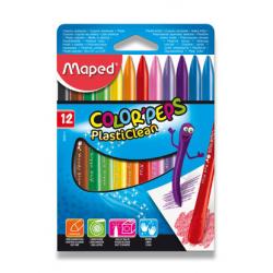 Ceruzky voskové MAPED 1/12 fareb. súpr.