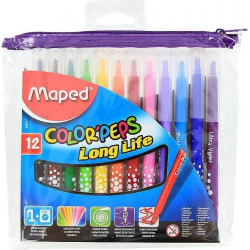 Fixky MAPED Color Peps 12 farieb