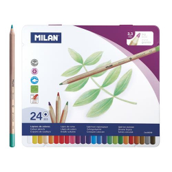 Pastelky MILAN 3,3mm 6hr 24ks 80058