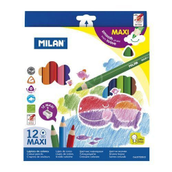 Pastelky MILAN MAXI 3hr 12ks 0722612