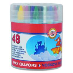 Voskovky farebné 48ks 8236