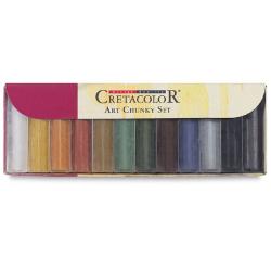 Sada farebných uhlíkov 12ks