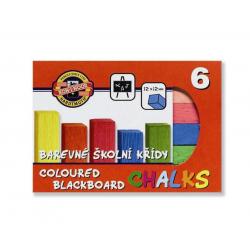 Krieda školská 6 farieb 112505