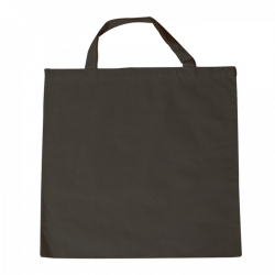 Nákupná taška 38x42cm, s krátkym uškom, čierna