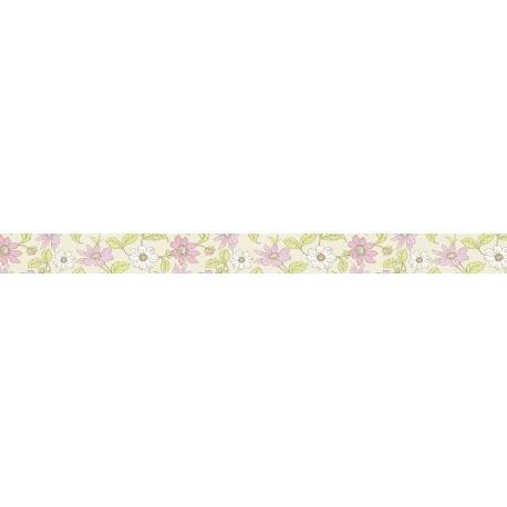 Maskovacia páska 15mmx10m kvety