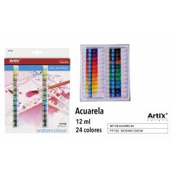 Sada akvarelových farieb 24x12ml