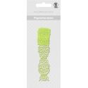 Papierová čipkovaná páska svetlo zelená 2m