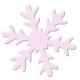 Výsekový strojček jumbo snehová vločka