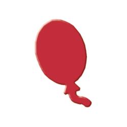 Výsekový strojček malý balón