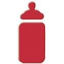 Výsekový strojček malý detská fľaša