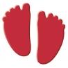 Výsekový strojček malý detské nohy
