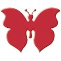 Výsekový strojček malý motýľ 2