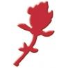 Výsekový strojček malý ruža