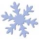 Výsekový strojček maxi snehová vločka