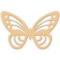 Výsekový strojček siluety veľký motýľ