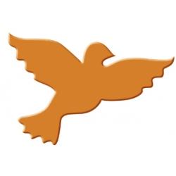 Výsekový strojček stredný holubica