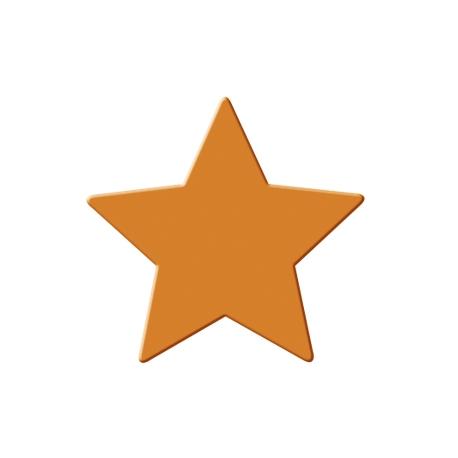 Výsekový strojček stredný hviezda