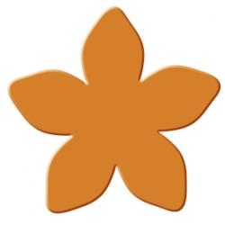 Výsekový strojček stredný hvieznda kvetina