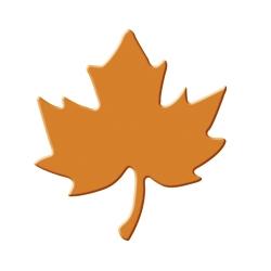 Výsekový strojček stredný javorový list