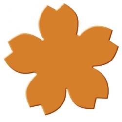 Výsekový strojček stredný lotosový kvet