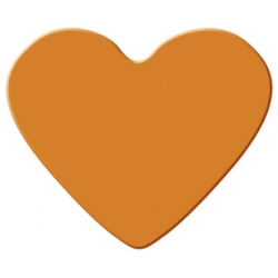 Výsekový strojček stredný srdce