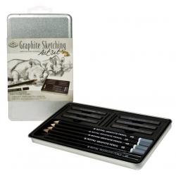 Grafitový skicovací set - 2502