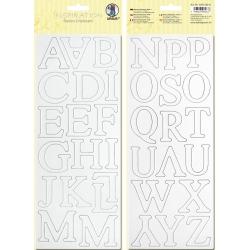 Biely kartón 12x30cm motív 1