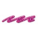 Glitrová farba linear, 28ml, ružová