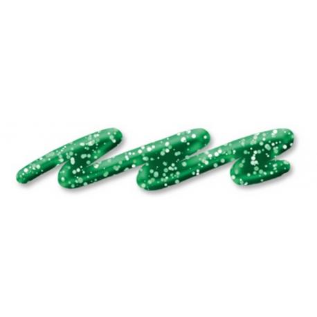 Glitrová farba linear, 28ml, zelená