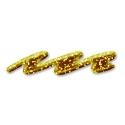 Glitrová farba linear, 28ml, zlatá