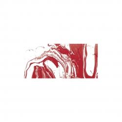 Mramorovacie farby - červená 20ml