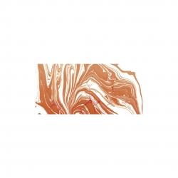 Mramorovacie farby - oranžová 20ml