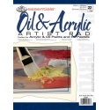 Skicár na olej a akryl, 22 listov, A4, 200g/m