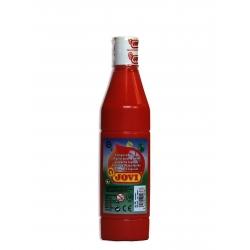 Temperová farba, červená 500ml