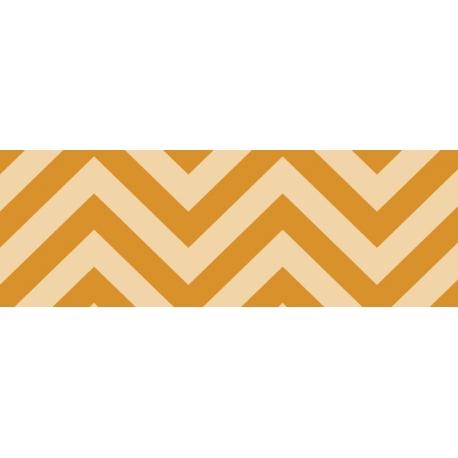 Fotokartón 300g Chevron 2 A4 oranžový